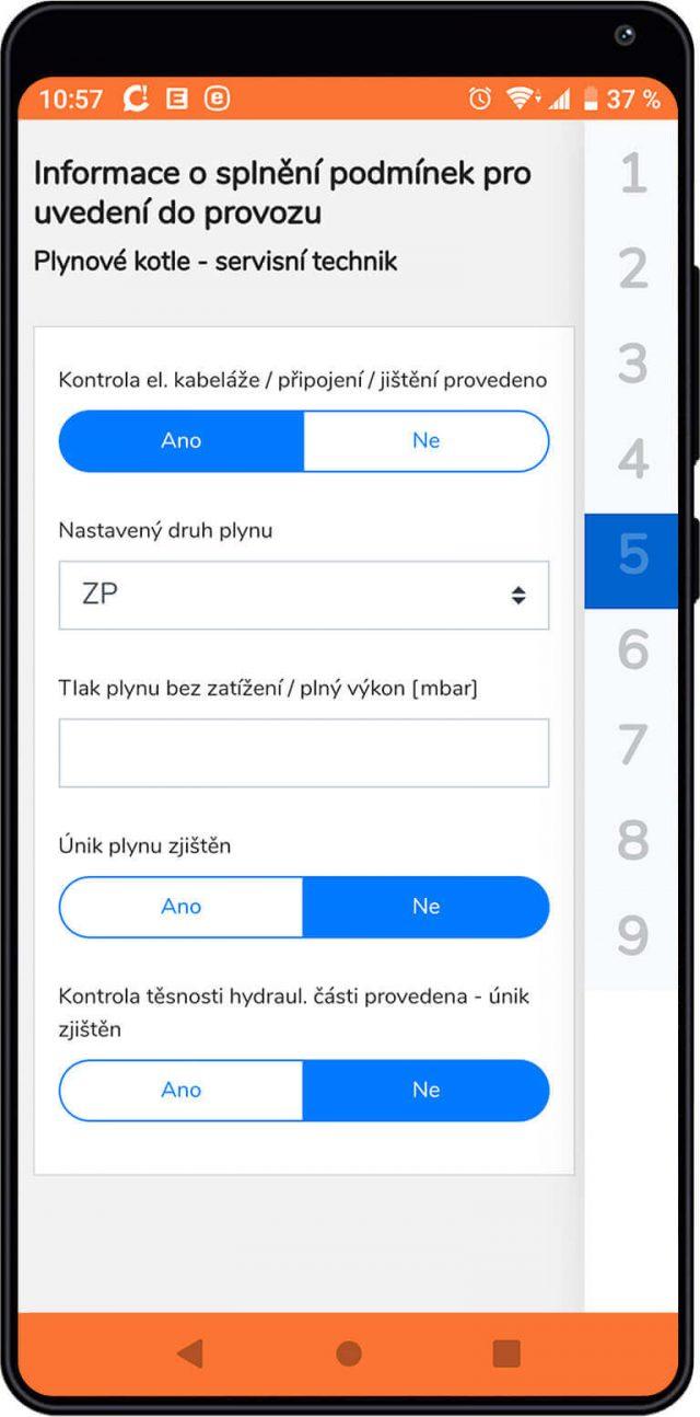 Práca s interatívnym formulárom prostredníctvom CDESK mobilnej aplikácie