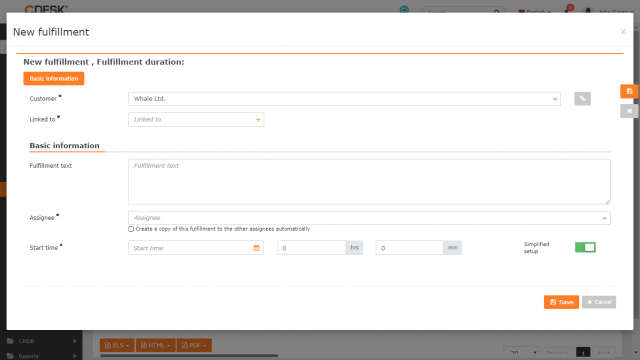 Zjednodušený formulár plnenia